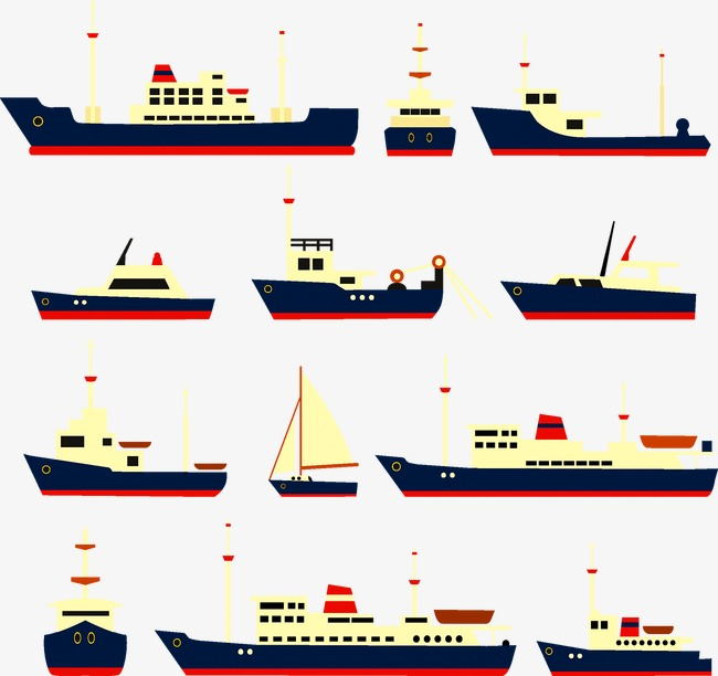 西洋帆船木制拼图图纸