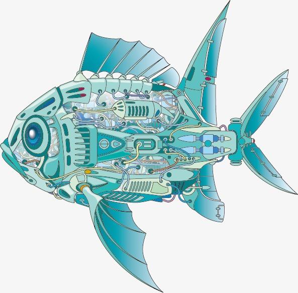 机械鱼(图片编号:15399134)