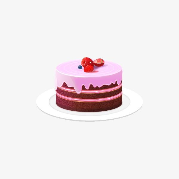 卡通纸杯蛋糕矢量图
