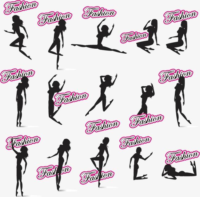 女性logo矢量素材