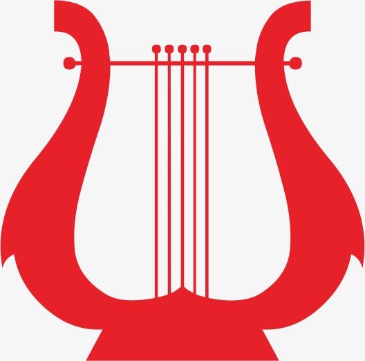 竖琴可爱标志的小马