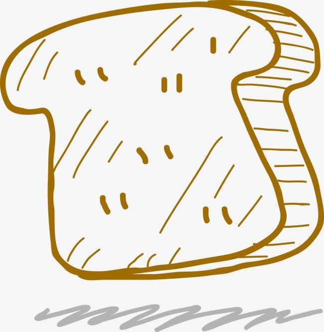 手绘面包(图片编号:15398418)