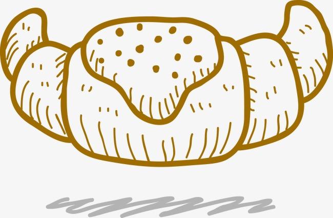 手绘面包(图片编号:15398415)
