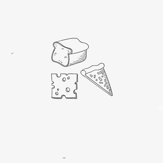 披萨简笔画图片大全