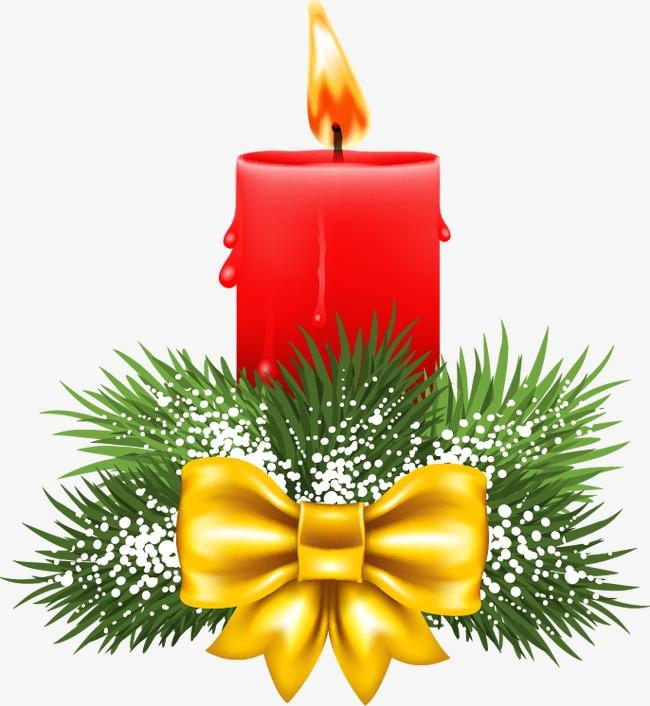设计元素 其他 装饰图案 > 红色蜡烛圣诞节装饰图案  [版权图片] 找