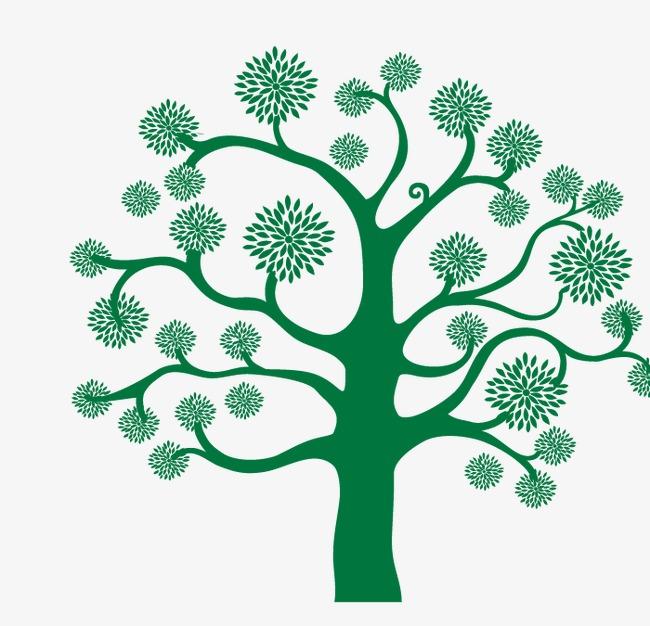 矢量创意树(图片编号:15397970)