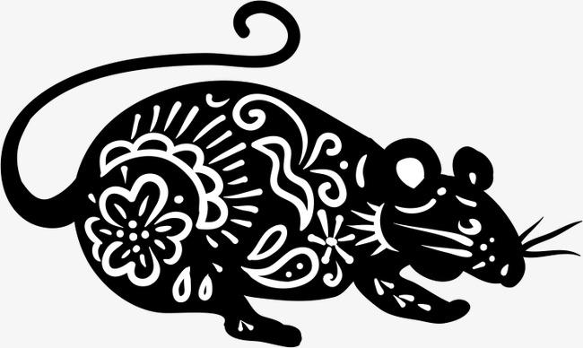 设计元素 其他 装饰图案 > 老鼠