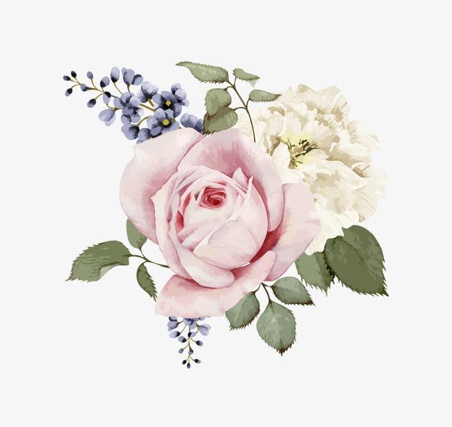 手绘水粉花卉(图片编号:15397880)