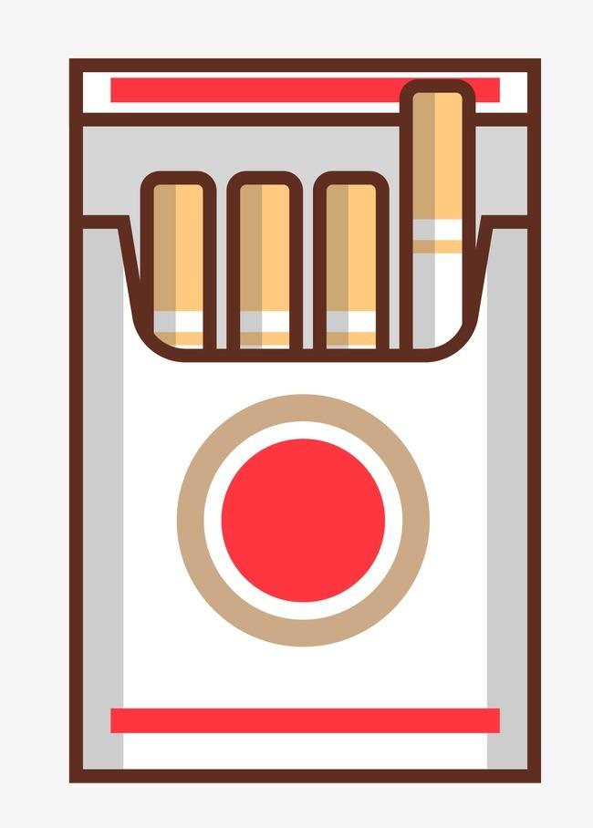 手绘卡通香烟