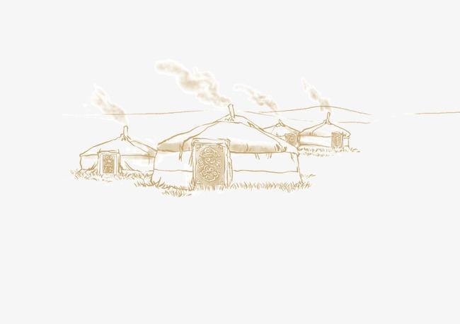 蒙古包图片下载蒙古草原简笔画草原蒙古大草原草原之