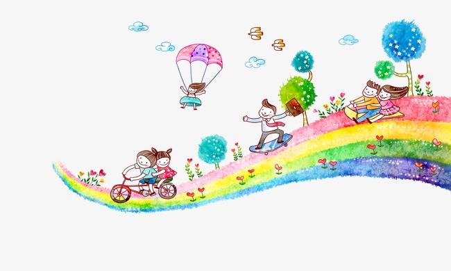 儿童手绘插画(图片编号:15397495)
