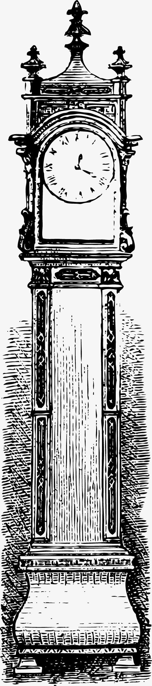 欧式手绘大本钟