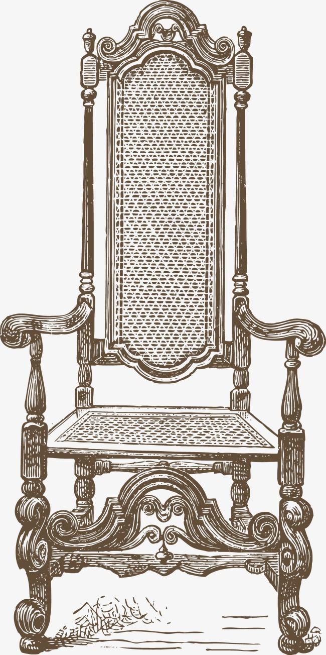 欧式古典藤椅装饰
