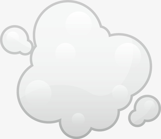 手绘云朵矢量元素