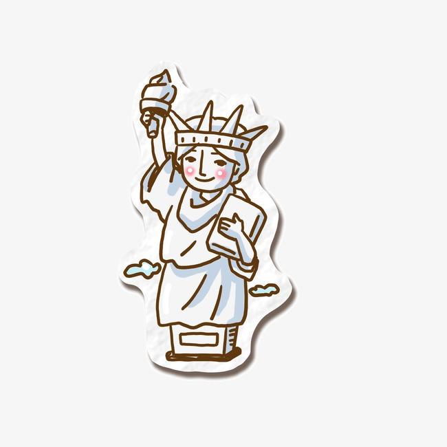 设计元素 其他 装饰图案 > 自由女神像  [版权图片] 找相似下一张 >