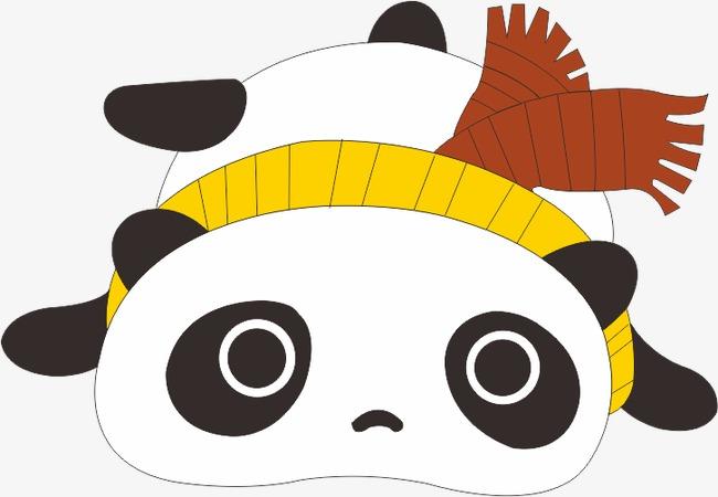 最流行的熊猫头像