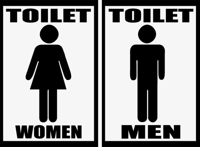 厕所标志素材图片免费下载 高清装饰图案psd 千库网 图片编号2885534