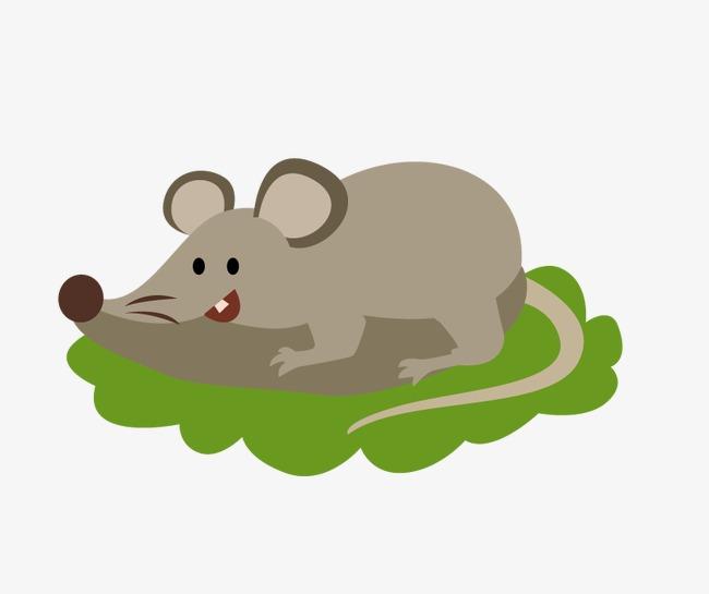 动物 卡通 可爱 扁平 老鼠             此素材是90设计网官方设计