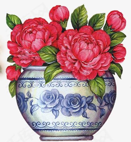 手绘花素材图片免费下载 高清装饰图案png 千库网 图片编号2911495图片