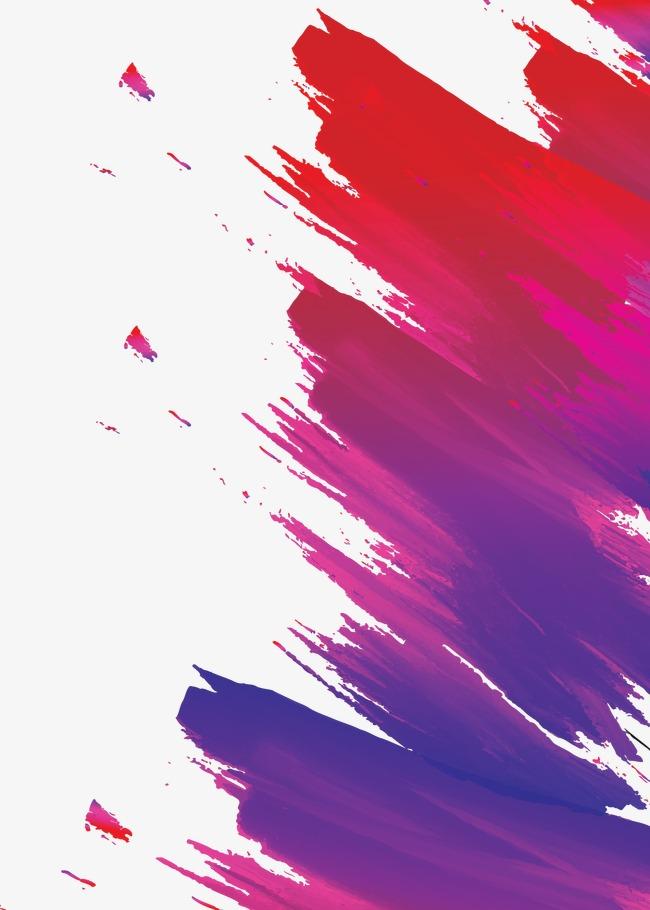 红色笔触渐变海报模板素材图片免费下载 高清装饰图案psd 千库网 图片编号2932286