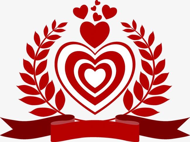 情人节徽章png素材-90设计