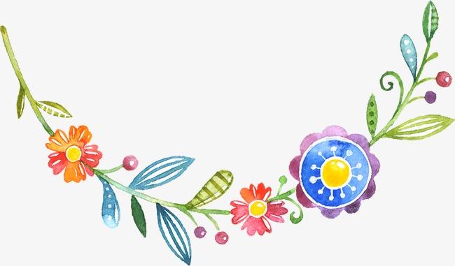 手绘卡通花边素材图片免费下载 高清装饰图案png 千库网 图片编号2953384图片