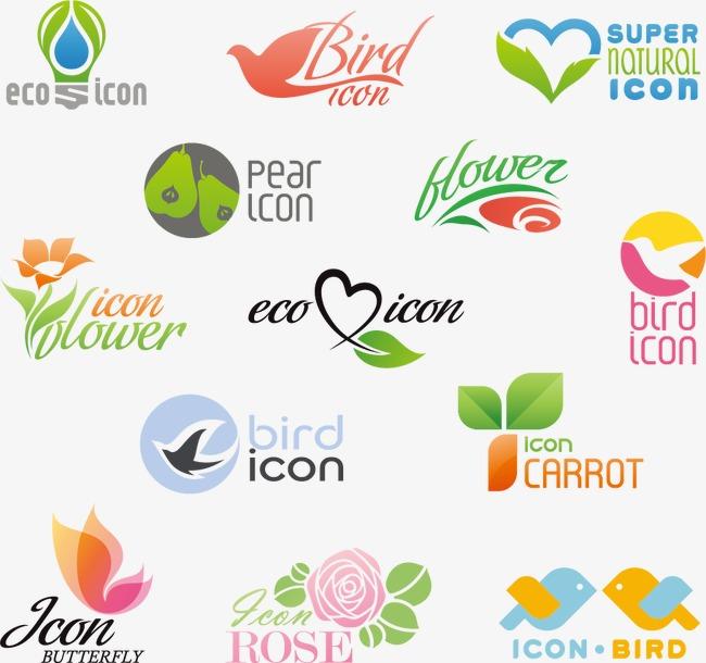 logo设计模板下载 logo设计 图标 创意设计 创意图标 绿色 小房子公益
