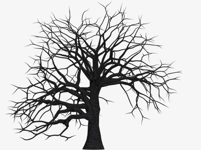 树枝电路板创意画