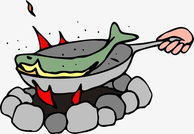 热锅红烧鱼图片