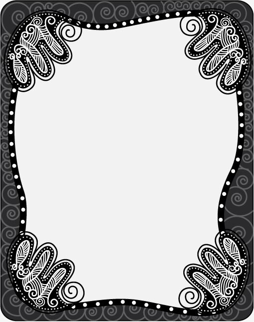 欧式边框 花纹 纹样 欧式标签图片素材 古朴样式 欧式标签花纹 纹样