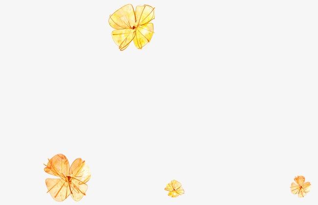 卡通手繪花朵
