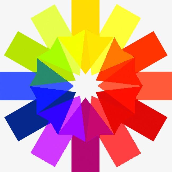 炫彩 圆环 圆形 折纸             此素材是90设计网官方设计出品,均