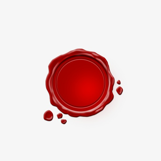图片 > 【png】 红色封蜡圆形图章  分类:ppt元素 类目:其他 格式:png
