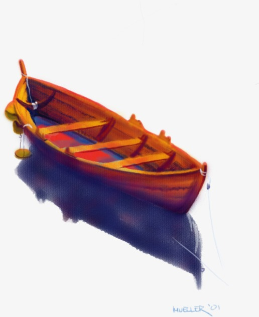 木头的小船手工制作