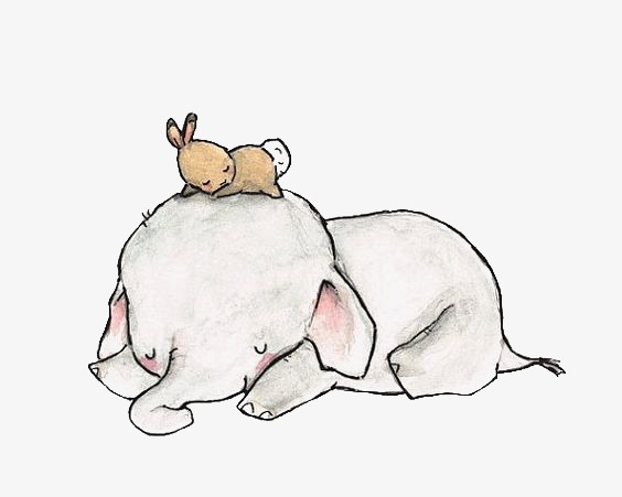 橡皮泥手工制作动物小象
