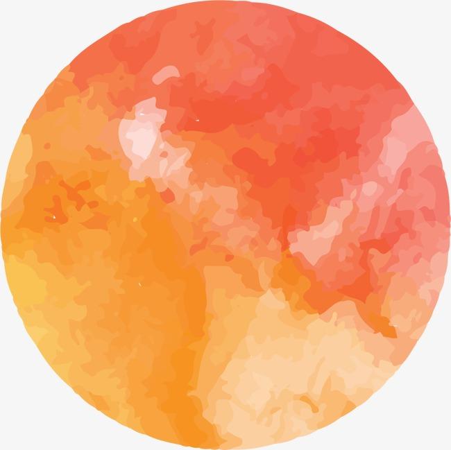 手绘水彩圆点抽象星球素材图片免费下载 高清装饰图案psd 千库网 图片编号3083175图片