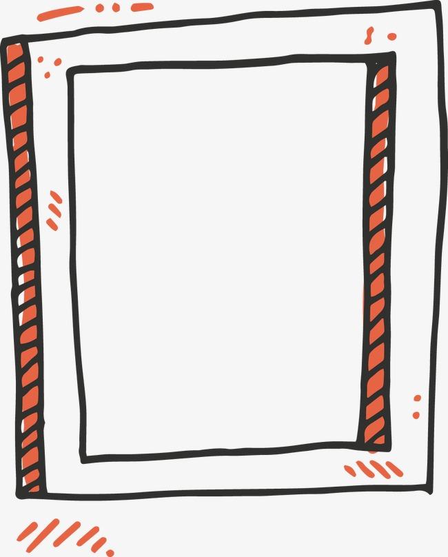 图片 > 【png】 手绘简易木框文本框  分类: 类目:其他 格式:png 体积