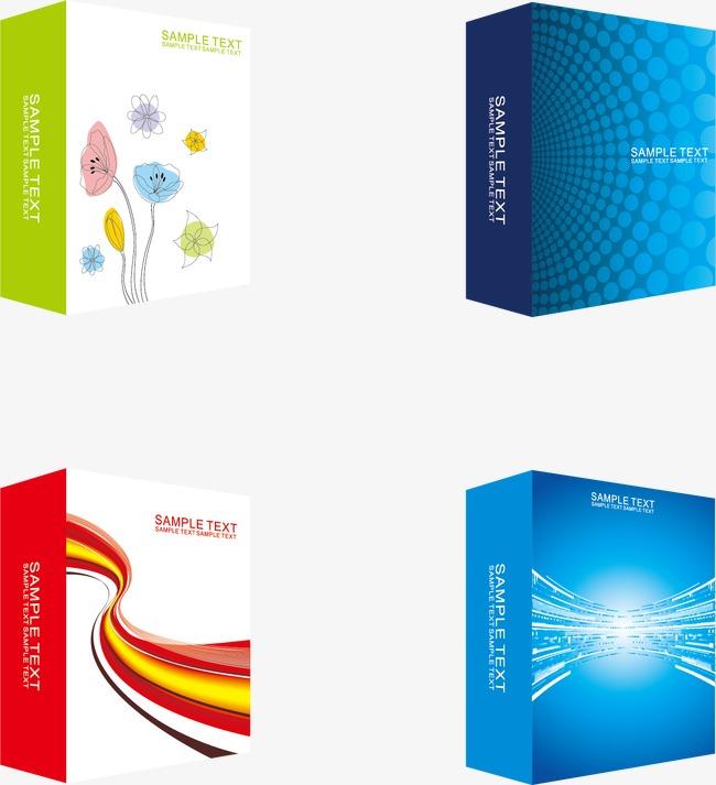 包装盒vi设计png素材-90设计