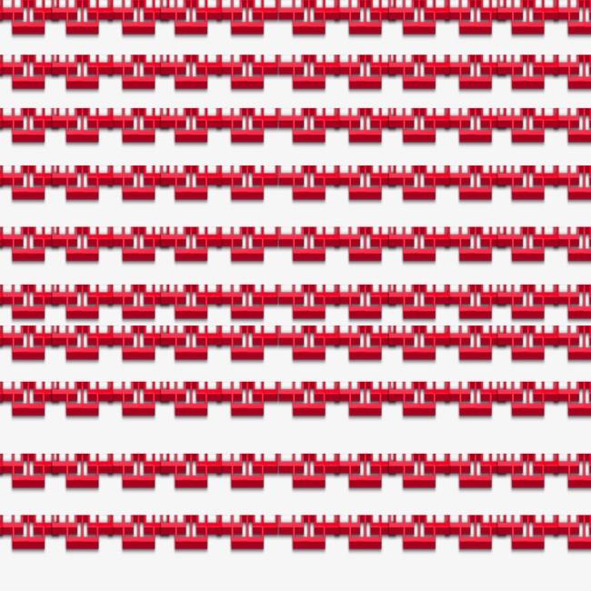 古典分割线花纹png素材-90设计