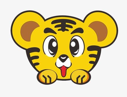 可爱卡通老虎图片