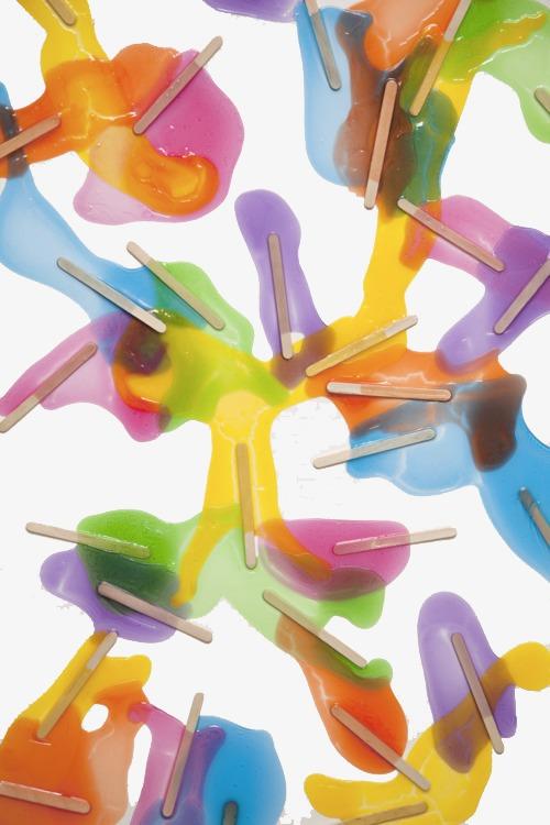 冰棒简笔画荧光板