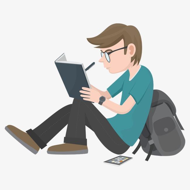 学生 卡通人物 人物 插画 卡通学生 学习学生 卡通人物 人物 插画