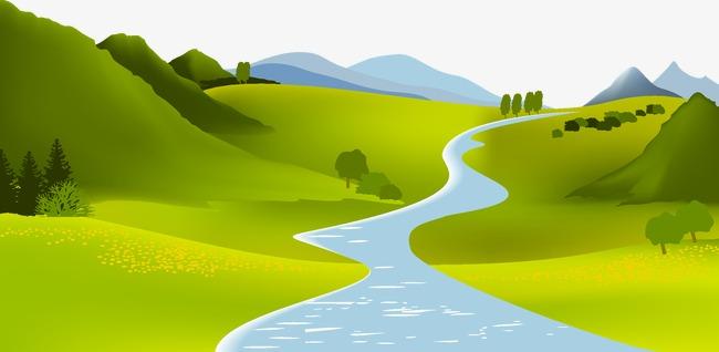 Как нарисовать реку и воду