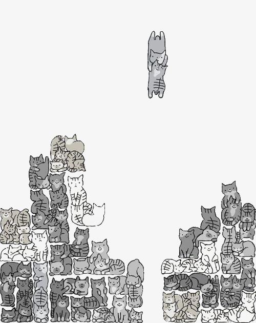 图片 > 【png】 猫方块  分类:手绘动漫 类目:其他 格式:png 体积:0.