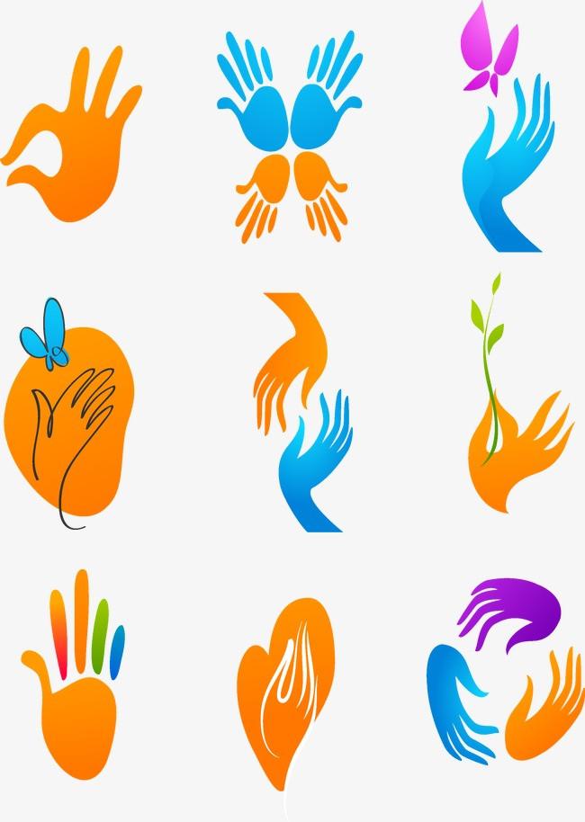 图片 图标矢量 > 【png】 手势图标  分类:动物 类目:其他 格式:png