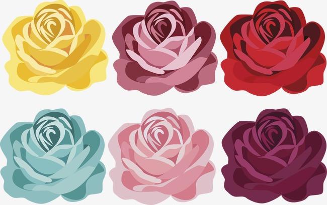 手绘 玫瑰花 花朵             此素材是90设计网官方设计出品,均做