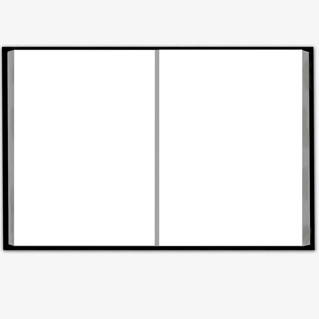 简笔怎么画书本边框
