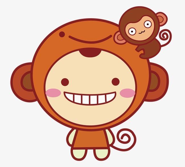 小猴子打球_可爱的小猴子