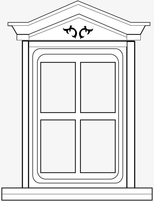 窗户【高清边框纹理png素材】-90设计