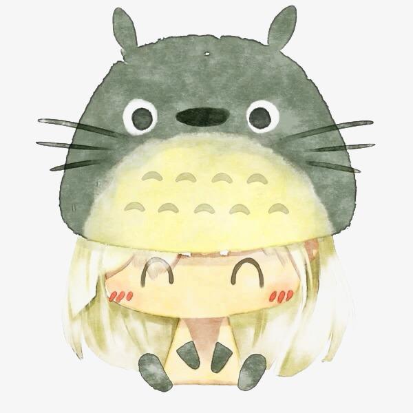 龙猫可爱人物